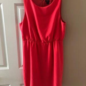 Women's JCREW coral dress